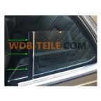 Junta de vedação vertical na janela para Mercedes W123 C123 123 Coupé CE CD