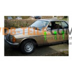 Strip hujan karet strip tetes pada strip trim pintu pengemudi strip krom kiri W123 C123 Coupé CE CD