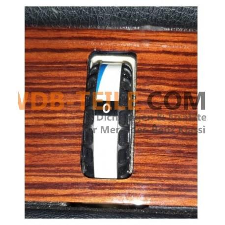 Naklejka na sterownik klimatyzacji Pokrętło klimatyzacji Przełącznik Przełącznik temperatury A1238201910 A1238201510 W126 W123
