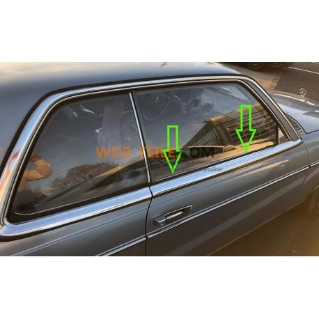 Mercedes Benz ซีลรางปิดผนึกหน้าต่างเพลา A1237250265 W123 C123 CE CD Coupé W107 SL SLC R107