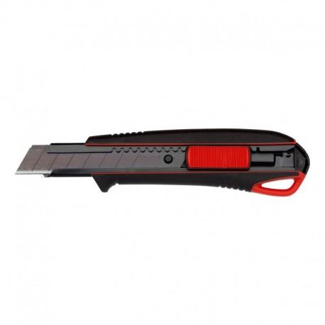 Couteau de coupe original Würth 2K 18 mm extrêmement tranchant 071566275 Couteau à tapis avec 3 lames