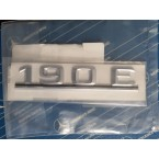 Oryginalna tabliczka znamionowa z oznaczeniem typu, emblemat 190E W201 A2018172015