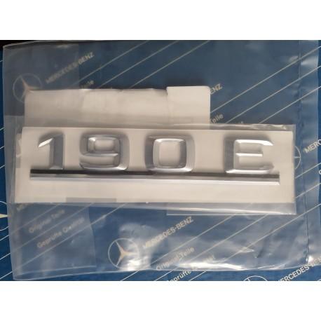 Emblema da placa de identificação de designação de tipo original 190E W201 A2018172015