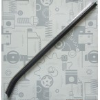 Оригинальный уплотнитель рельса стеклоподъемника вала заднего стекла ЛЕВЫЙ W123 C123 CE CD Coupé A1236700938