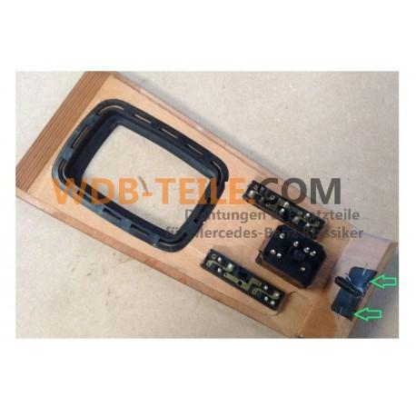 Tapa de escuadra de madera zebrano circuito puerta de cambio W123 S123 TE CE CD Coupé