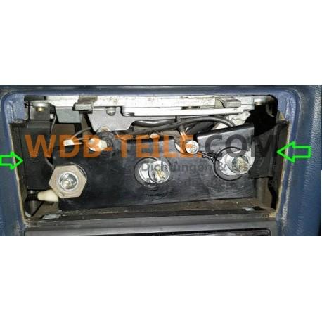 Soporte de caja de calefacción original Mercedes A1238330714 W123, C123, Coupe, CE, sedán