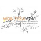 Оригинальный зажимной винт кронштейна генератора W123, W201, W124, C124, C123, W460, W461, M102 230 CE CD Coupé TE A1001500072