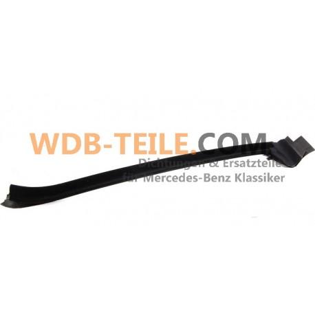 Original uppsättning tätningsskenor fönsterplats bakrutan W123 C123 CE CD Coupé A1236700938 A1236701038
