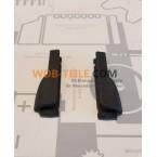 Satz Abdeckkappen Endstücke für Schwellerdichtungen Schweller W123 S123 Limousine T-Modell Fahrer- und Beifahrerseite