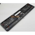 OEライセンスプレートホルダーメルセデスベンツクラシックブラックQ8520003