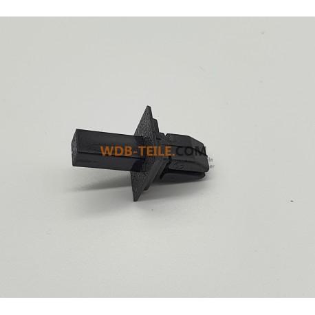 Klip saluran udara rivet rivet mengembang asli A1239900492 W123, C123, S123, Coupe, CE, CD, Sedan, TE, Model T