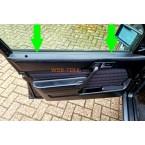 Joint de rail d'étanchéité Mercedes avant à l'intérieur W201 190E 190D A2017250365