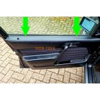 Mercedes sello de riel de sellado frontal interior W201 190E 190D A2017250365