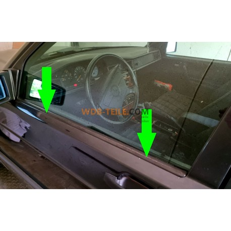 Mercedes etanșare fereastră garnitură fereastră ax exterior W201 190E 190D A2017250565