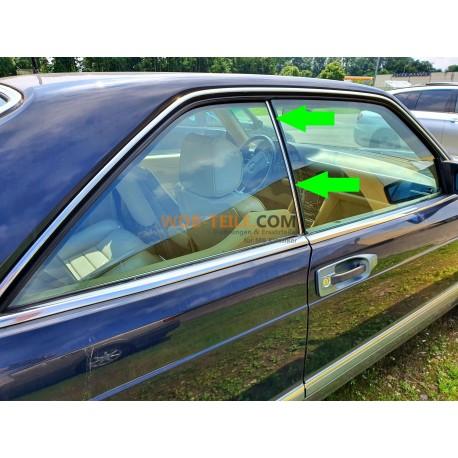 Mercedes Benz sellado luneta trasera lado del pasajero derecho W126 C126 Coupé SEC A1266700639