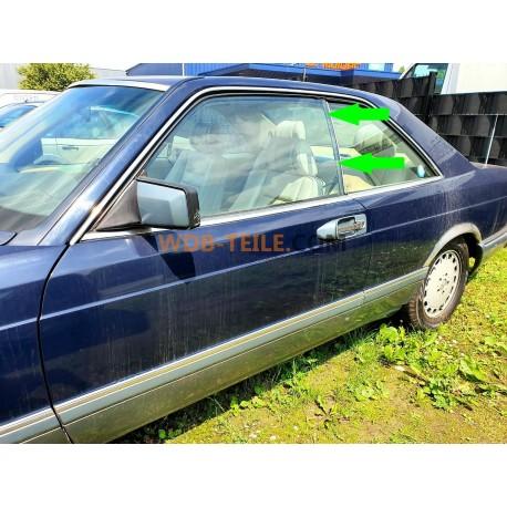 Mercedes Benz guarnizione lunotto lato guida sinistro W126 C126 Coupé SEC A1266700539