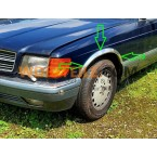 Mercedes Abdichtung Zierleiste Kotflügel Radlauf W123 W124 W126 W107 W111 W114 W115 CE CD Coupé SE SEL SEC SLC