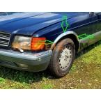 Mercedes banda embellecedora de sellado guardabarros paso de rueda W123 W124 W126 W107 W111 W114 W115 CE CD Coupé SE SEL SEC SLC